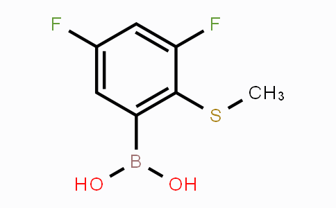 861931-32-0 | 3,5-Difluoro-2-methylsulfanylphenylboronic acid