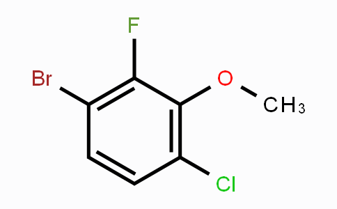 943832-96-0 | 1-Bromo-4-chloro-2-fluoro-3-methoxybenzene
