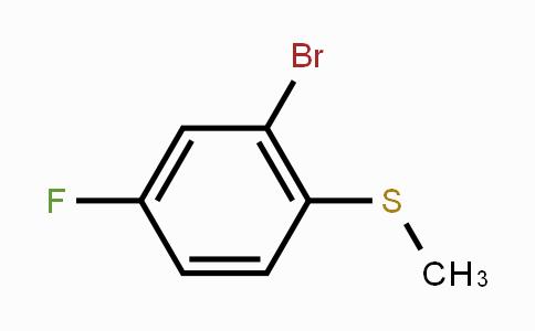 91524-70-8 | 2-Bromo-4-fluorothioanisole