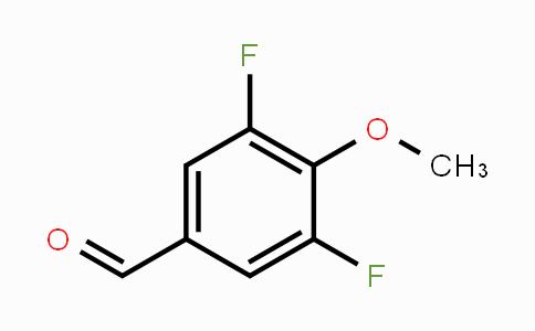 654-11-5 | 3,5-Difluoro-4-methoxybenzaldehyde