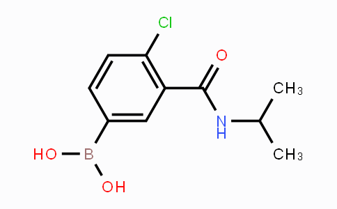 MC452951 | 871332-74-0 | 4-Chloro-3-(isopropylcarbamoyl)phenylboronic acid