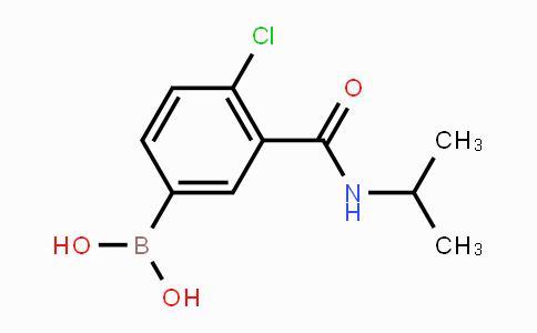 871332-74-0 | 4-Chloro-3-(isopropylcarbamoyl)phenylboronic acid