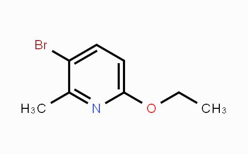 610278-93-8 | 3-Bromo-6-ethoxy-2-methylpyridine