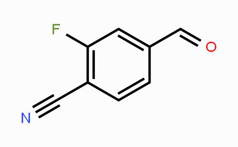 101048-76-4 | 2-Fluoro-4-formylbenzonitrile