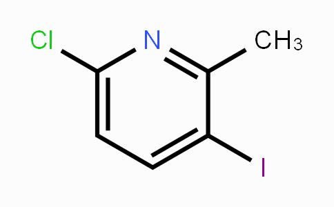 249291-79-0 | 6-Chloro-3-iodo-2-methylpyridine