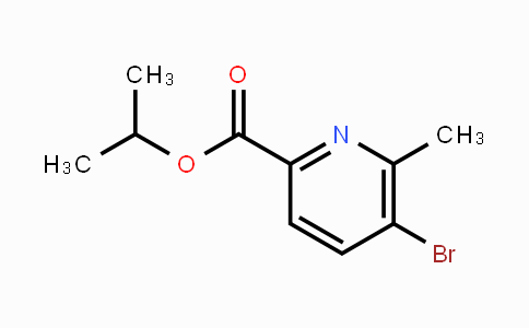 1122092-09-4 | 5-Bromo-6-methylpyridine-2-carboxylic acid isopropyl ester