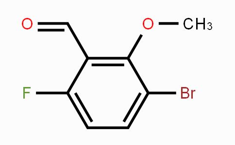 473416-74-9 | 3-Bromo-6-fluoro-2-methoxybenzaldehyde