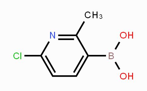 MC453081 | 913836-15-4 | 6-Chloro-2-methylpyridine-3-boronic acid