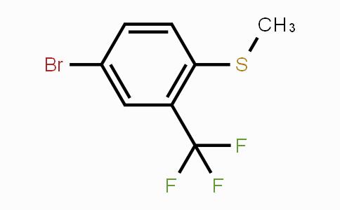 300356-31-4 | 4-Bromo-1-(methylthio)-2-(trifluoromethyl)-benzene