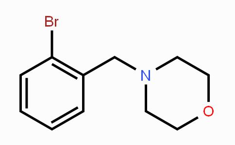 91130-51-7 | 4-(2-Bromophenylmethyl)morpholine