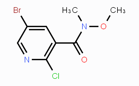 MC453123 | 885223-63-2 | 5-Bromo-2-chloro-N-methoxy-N-methylnicotinamide