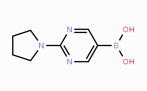 DY453151 | 955374-13-7 | (2-Pyrrolidin-1-ylpyrimidin-5-yl)boronic acid
