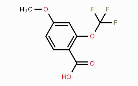 886502-37-0 | 4-Methoxy-2-(trifluoromethoxy)benzoic acid