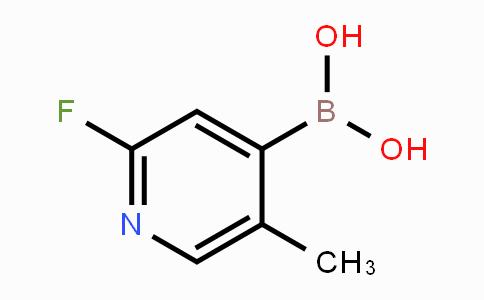929194-41-2 | 2-Fluoro-5-methylpyridine-4-boronic acid