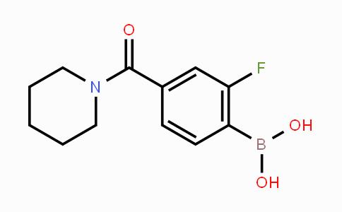 874289-26-6 | 2-Fluoro-4-(piperidine-1-carbonyl)phenylboronic acid