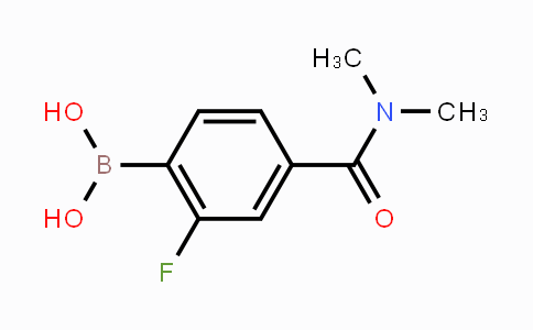 MC453211 | 874289-30-2 | 4-(Dimethylcarbamoyl)-2-fluorophenylboronic acid
