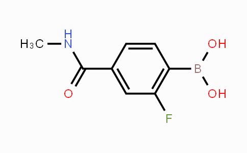 874289-23-3   4-(N-Methylaminocarbonyl)-2-fluorophenylboronic acid