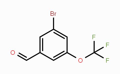 886498-07-3 | 3-Bromo-5-(trifluoromethoxy)benzaldehyde