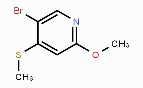 474824-64-1 | 5-Bromo-2-methoxy-4-(methylthio)pyridine