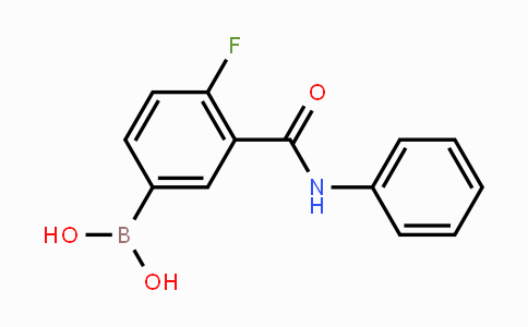 MC453266 | 874219-33-7 | 4-Fluoro-3-(phenylcarbamoyl)phenylboronic acid