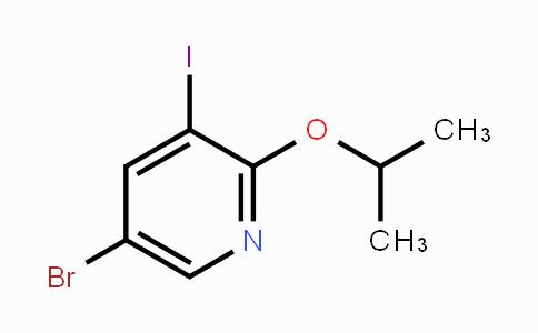 848243-21-0 | 5-Bromo-3-iodo-2-isopropoxypyridine
