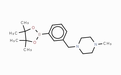DY453276 | 883738-27-0 | 3-(4-Methyl-1-piperazinylmethyl)benzeneboronic acid pinacol ester