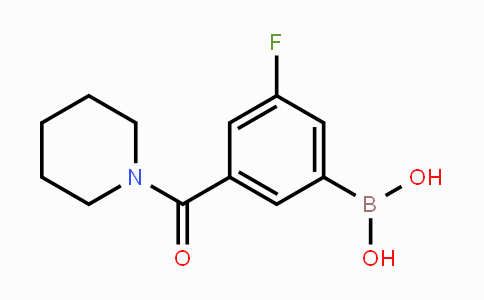 874219-43-9 | 3-Fluoro-5-(piperidine-1-carbonyl)phenylboronic acid