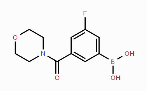 874219-40-6 | 3-Fluoro-5-(morpholine-4-carbonyl)phenylboronic acid