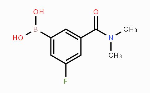 MC453288 | 874219-39-3 | 5-(Dimethylcarbamoyl)-3-fluorophenylboronic acid