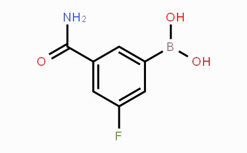 MC453289 | 871332-66-0 | 3-(Aminocarbonyl)-5-fluorophenylboronic acid
