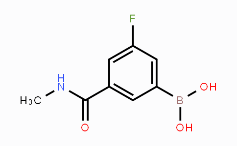 MC453291 | 871332-63-7 | 3-Fluoro-5-(methylcarbamoyl)phenylboronic acid