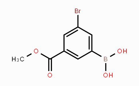 913835-87-7 | 3-Bromo-5-(methoxycarbonyl)phenylboronic acid