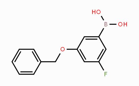 MC453296   850589-56-9   3-Benzyloxy-5-fluorophenylboronic acid