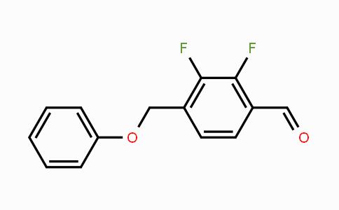 947279-29-0 | 2,3-Difluoro-4-formyl-benzyloxybenzene