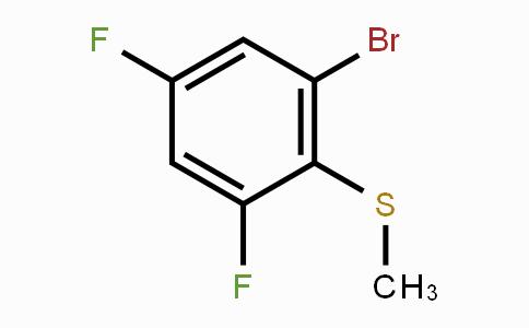 861931-33-1 | 1-Bromo-3,5-difluoro-2-methylsulfanylbenzene