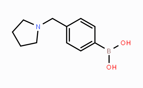 DY453322 | 1036991-20-4 | 4-(Pyrrolidin-1-ylmethyl)phenylboronic acid