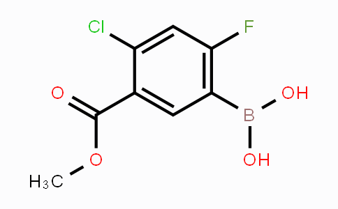 325786-24-1 | 4-Chloro-2-fluoro-5-methoxycarbonylphenylboronic acid