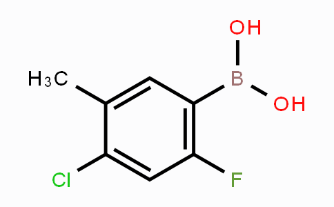MC453343 | 325786-09-2 | 4-Chloro-2-fluoro-5-methylphenylboronic acid
