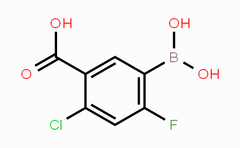 MC453344 | 325786-23-0 | 5-Carboxy-4-chloro-2-fluorophenylboronic acid