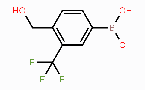 932390-39-1 | 4-(Hydroxymethyl)-3-(trifluoromethyl)phenylboronic acid