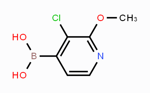 957060-88-7 | 3-Chloro-2-methoxypyridine-4-boronic acid