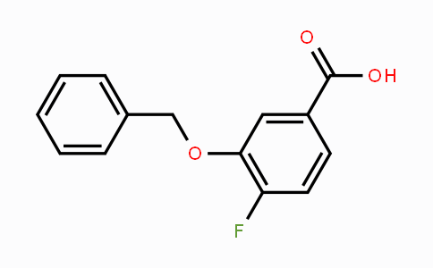616197-92-3 | 3-Benzyloxy-4-fluorobenzoic acid