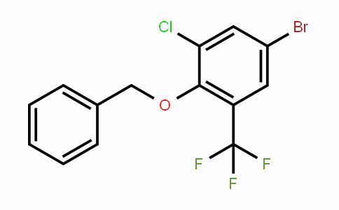2070896-27-2 | 1-(Benzyloxy)-4-bromo--6-chloro-2-(trifluoromethyl)benzene
