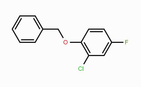 918524-11-5 | 1-Benzyloxy-2-chloro-4-fluorobenzene