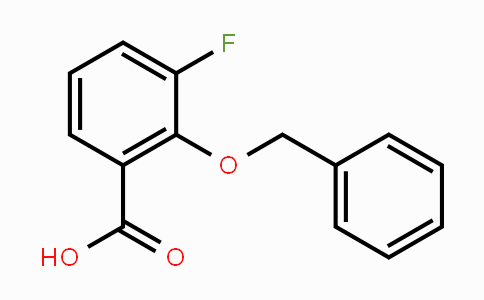 938181-74-9 | 3-Fluoro-2-[(phenylmethyl)oxy]benzoic acid
