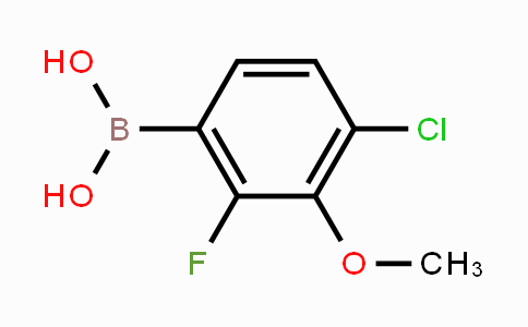 MC453426 | 944129-07-1 | 4-Chloro-2-fluoro-3-methoxyphenylboronic acid