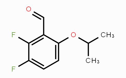 MC453428 | 949026-89-5 | 2,3-Difluoro-6-isopropoxybenzaldehyde