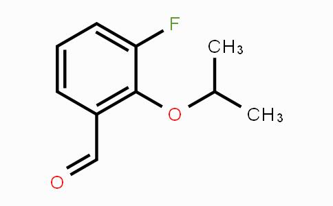 MC453430 | 1037092-98-0 | 3-Fluoro-2-isopropoxybenzaldehyde