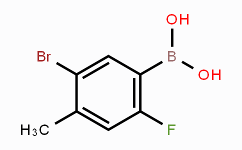 MC453434 | 957061-14-2 | 5-Bromo-2-fluoro-4-methylphenylboronic acid
