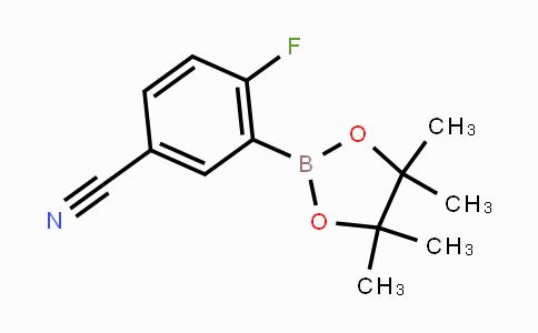 863868-29-5 | 4-Fluoro-3-(4,4,5,5-tetramethyl-1,3,2-dioxaborolan-2-yl)benzonitrile